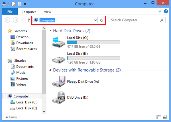 How to delete everything on computer
