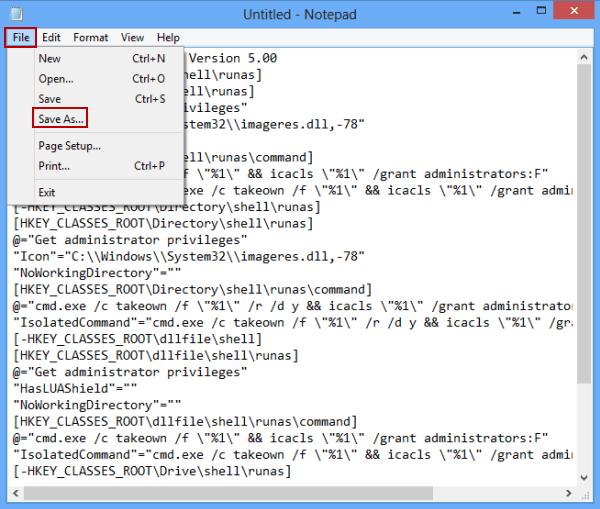 administrator privileges windows 8.1