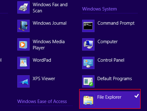 lost windows explorer from taskbar