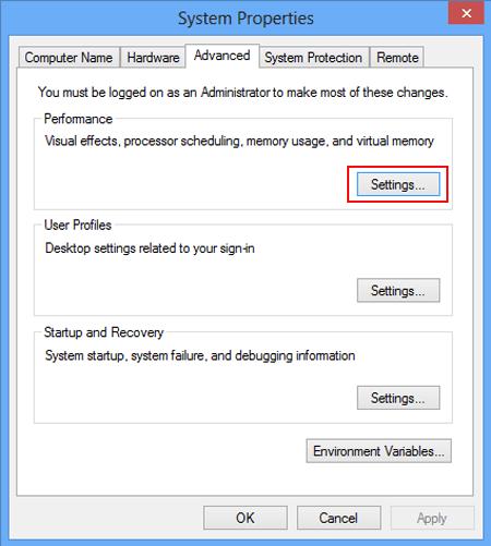 How to Increase Virtual Memory in Windows 8