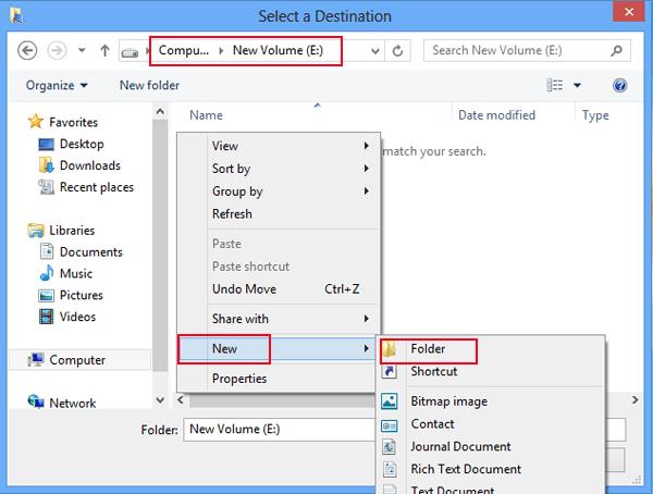 Desktop directory