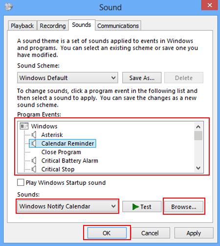 no sounds windows 8