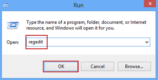 cant open registry editor windows 7