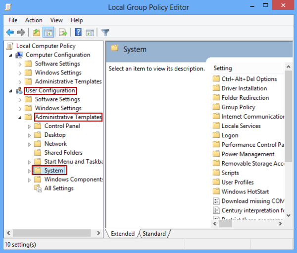 Prevent Access to Command Prompt on Windows 8/8 1