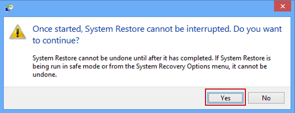 How to restore computer to previous date