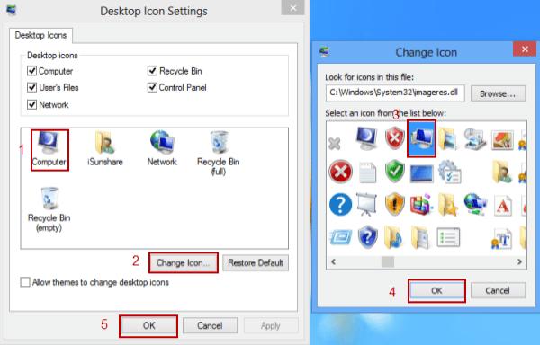 change icons windows 8.1
