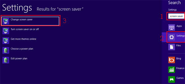 How to SetChange Screen Saver in Windows 881 Computer