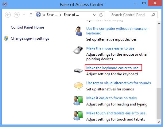 sticky keys windows 8 password reset