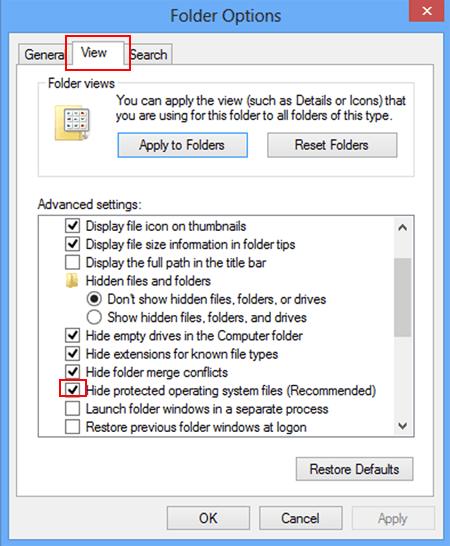 Peachy Show Hidden Files On Windows 8 Or 8 1 Desktop Or Tablet Home Interior And Landscaping Eliaenasavecom