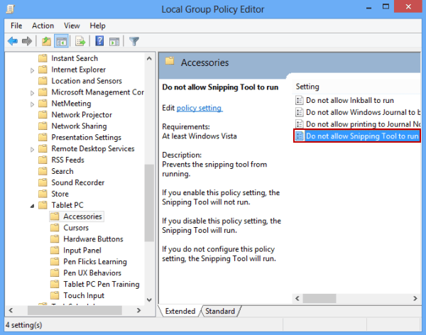 snipping tool in windows 7