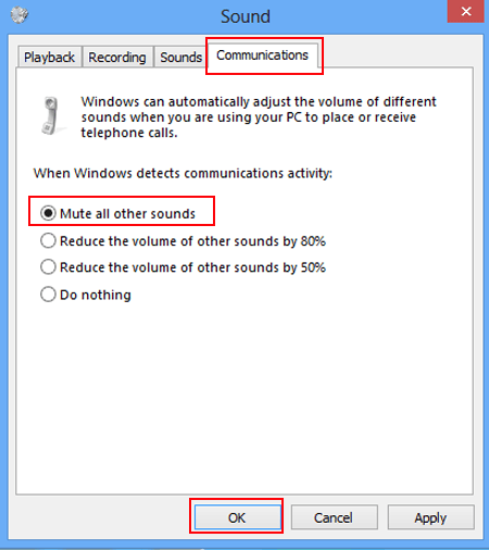 why is there no sound on my computer windows 8.1