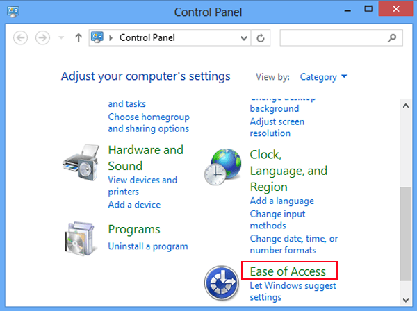 How to Turn on and Turn off Sticky Keys on Windows 8/8 1