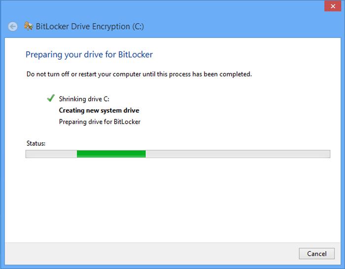 How to Turn on BitLocker on Windows 8