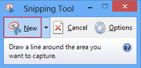 how do you use snipping tool on windows 7