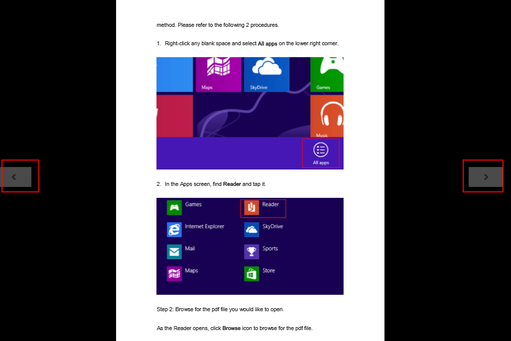 How to Use Windows 8/8 1 Reader
