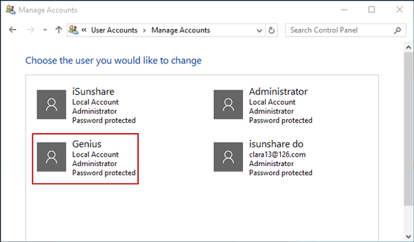 how do i change another users password in windows 8