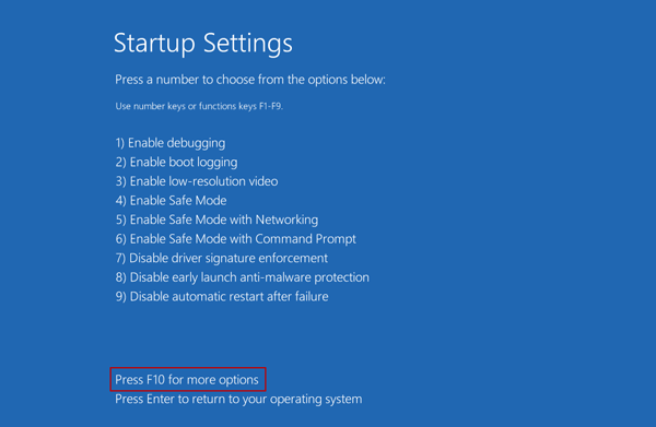 Four Methods to Access UEFI BIOS Setup in Windows 8/10 PC/Laptop/Tablet