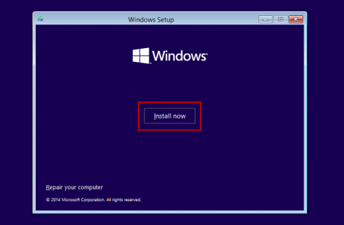 remove windows password by system reinstallation