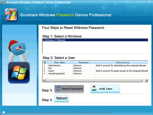 How to Reset your Windows password without an install CD