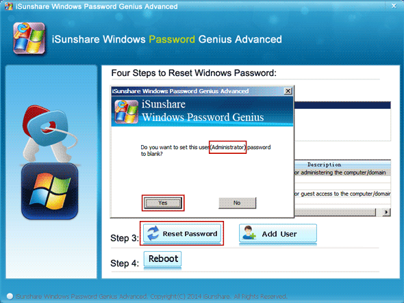 unlock laptop with password recovery utility