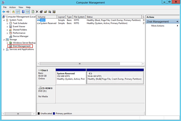How to Create Virtual Hard Disk in Windows Server 2012 (R2)
