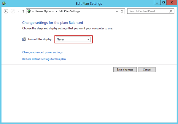 enable lock screen in windows server 2012