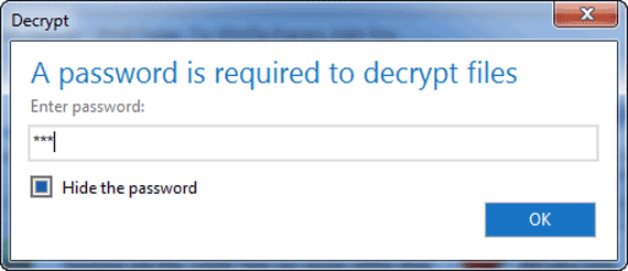 open encrypted zip file in winzip
