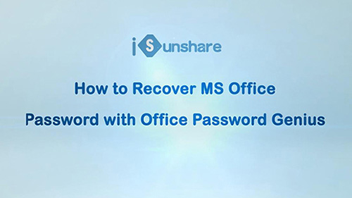 ms office password remover