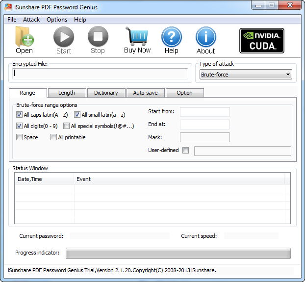Effective PDF password recovery software