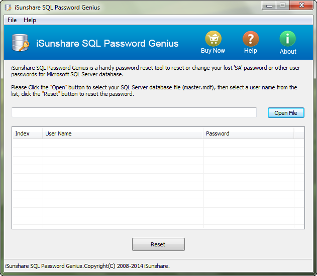 SQL Password Recovery software