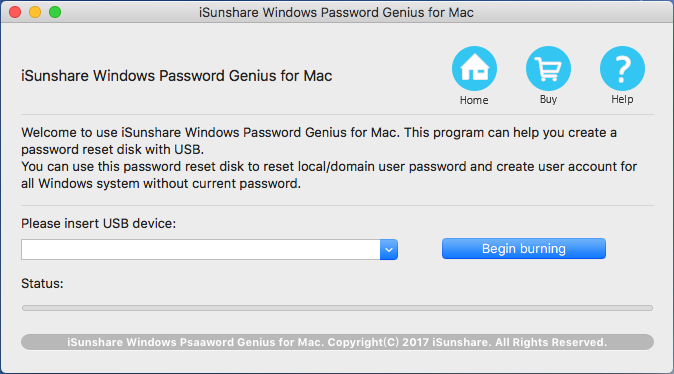 Simple Windows password recovery tool for Mac